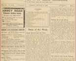 WW1 - Newspaper, Great Britain and the War
