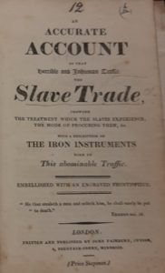 Title-page from pamphlet in Gurney collection